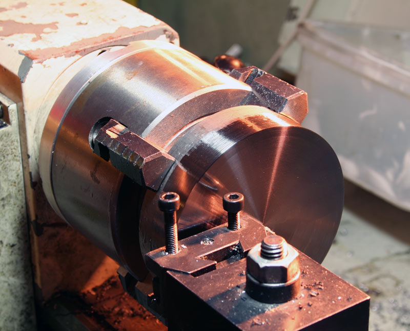 Titanium: A new material on the mini-lathe