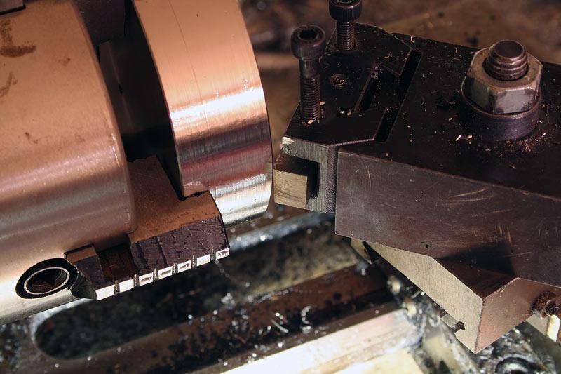 steel lathe titanium a new material on the mini lathe