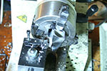 more facing on the mini-lathe