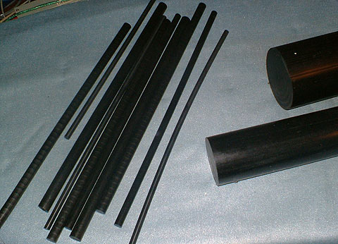 a range of delrin and acetal engineering plastics