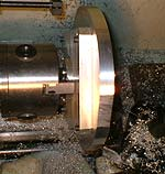 large job on a mini-lathe