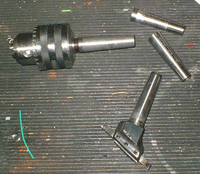 a range of morse taper tools