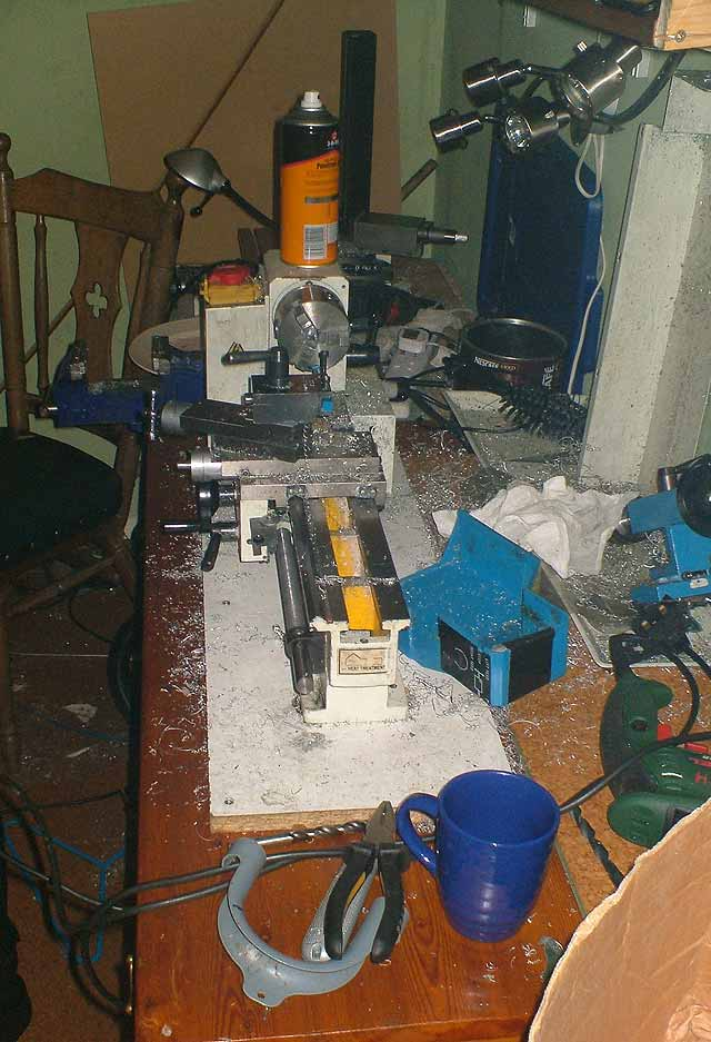 workshop lathe