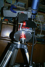 side view of the RA axis of my diy telescope mount